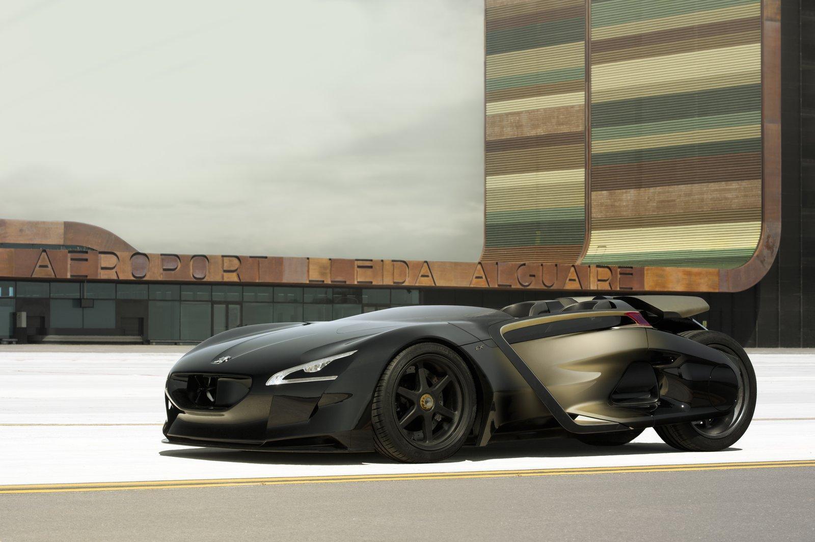 คุณกำลังดู: Peugeot EX1 Roadster Concept